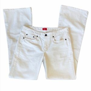 DONATE Mossimo White Boot Cut Jeans Size 9